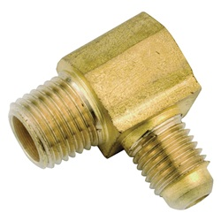 Brass Pipe Flare Elbows