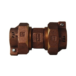 Brass Pipe Compression Unions