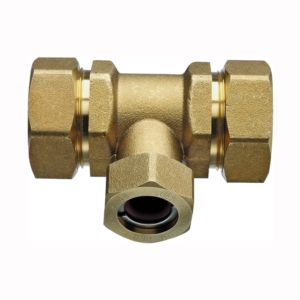 Brass Pipe Compression Tees