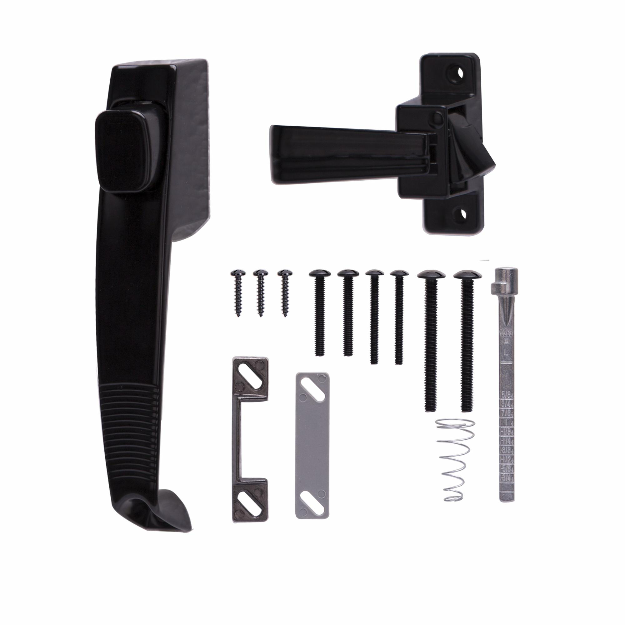 Black Prosource 47020-U-PS Storm//Screen Door Latch
