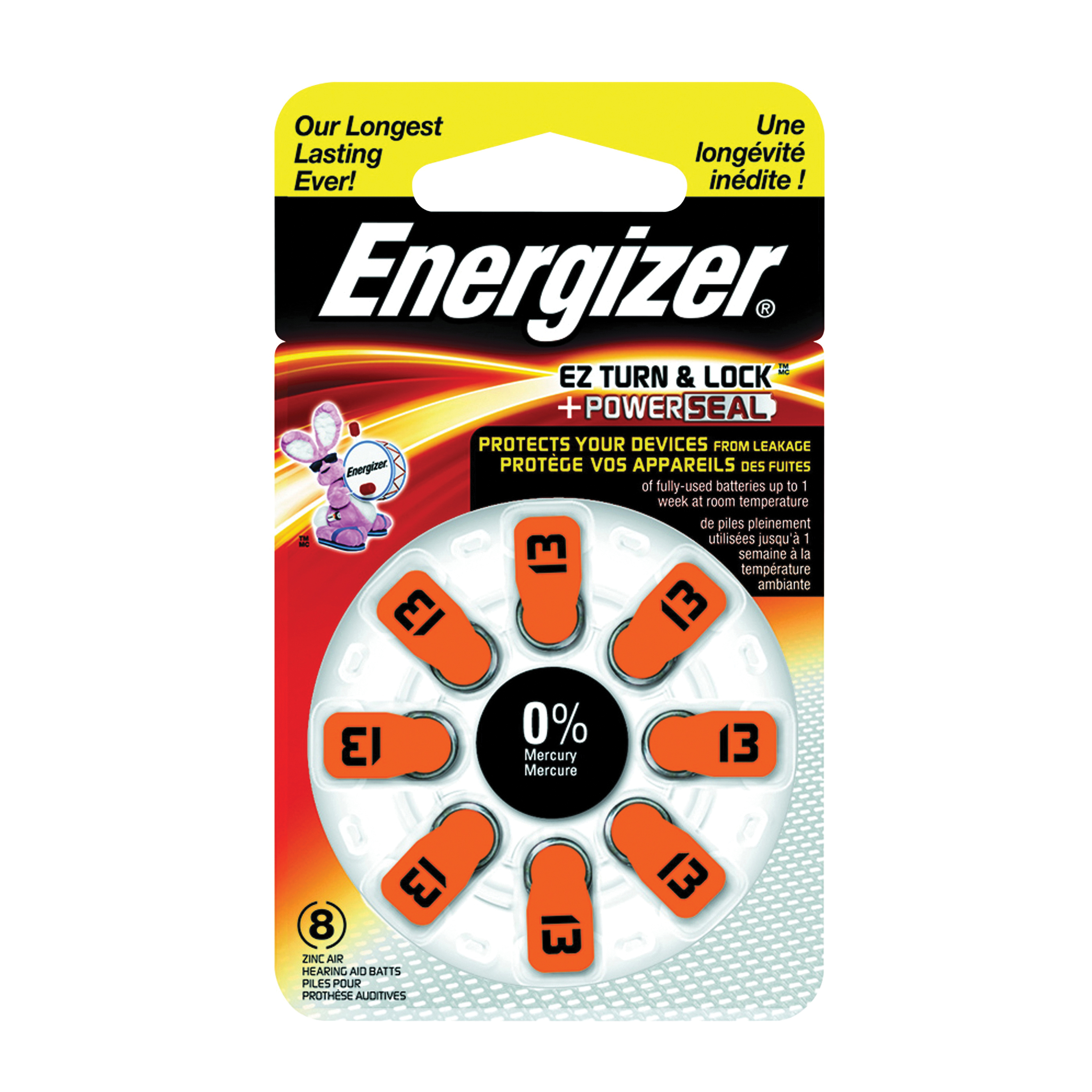 ENERGIZER BATTERY AZ13DP-8