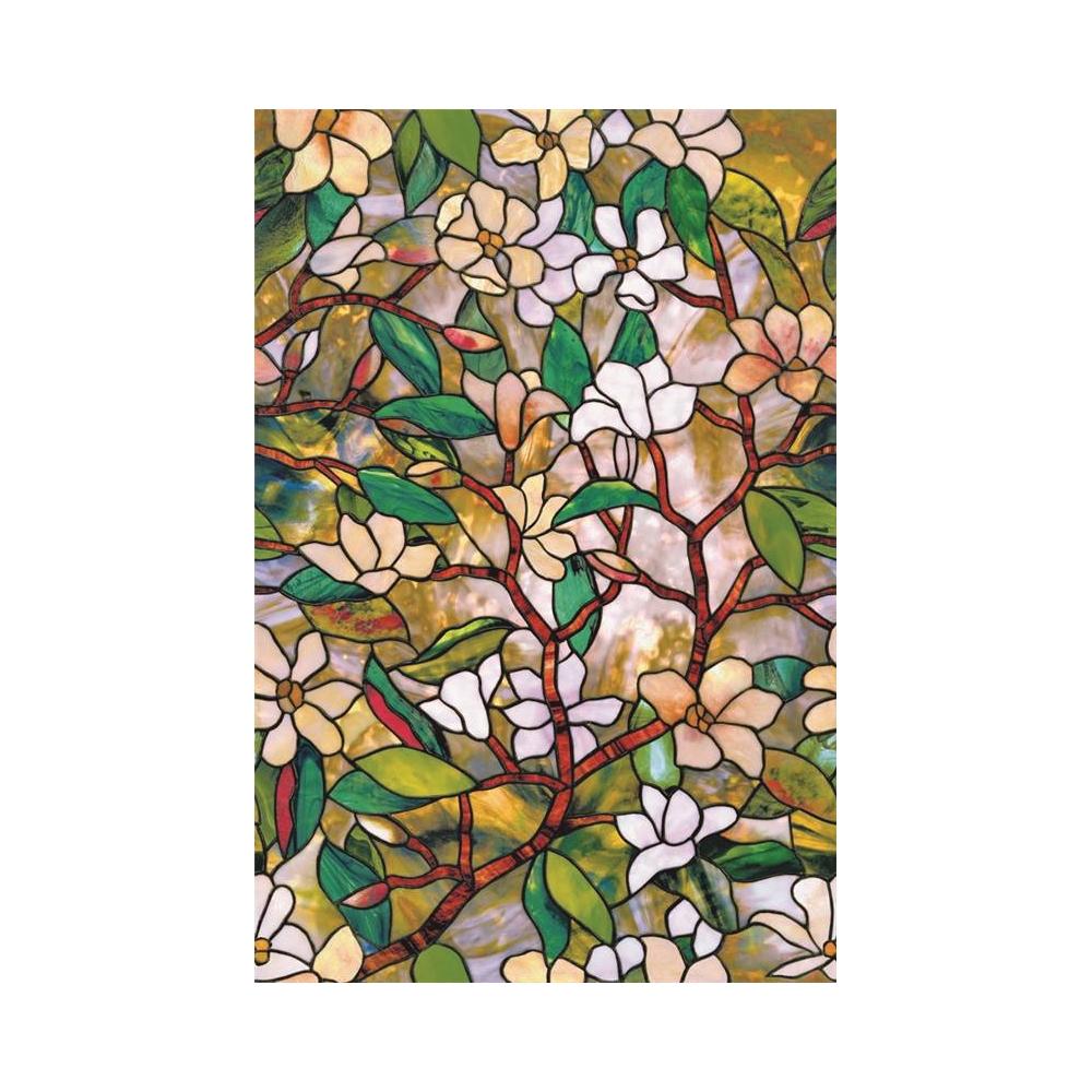 Artscape 01-0128 Etched Leaf Window Film 24-by-36-Inch