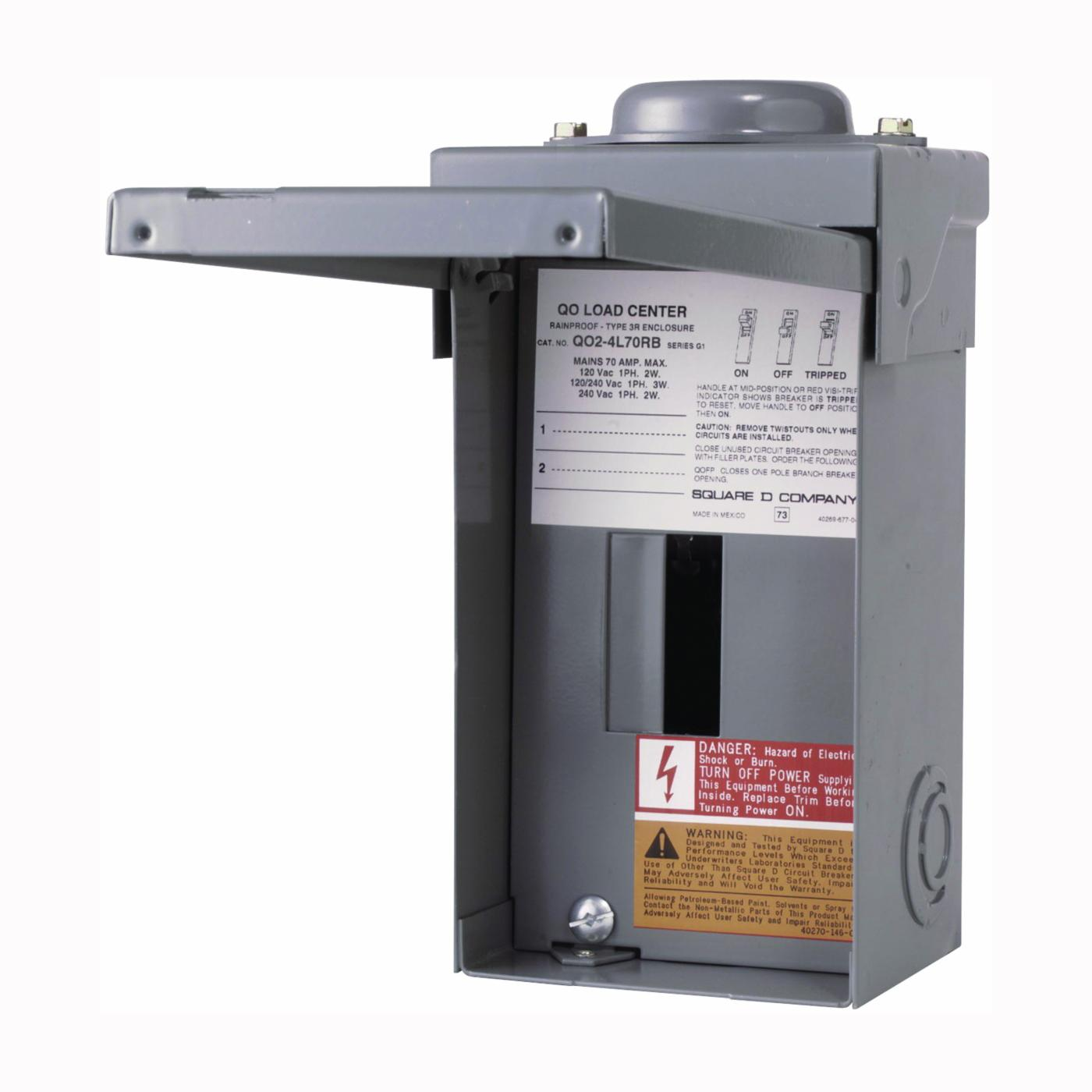 SQUARE D BY SCHNEIDER ELECTRIC QO24L70RBCP